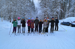 Зимние каникулы в ДОЛ «Голубое озеро»