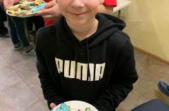 Мастер класс от волонтёров СПБГУ и любимой «Мяты» . Мы творили новогодние печеньки!! 05.12.2019