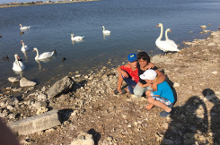 Незабываемая поездка на лебединое озеро! 23.08.2019